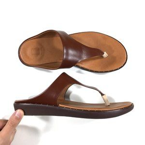 FitFlop Banda II Leather Sandals